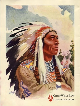 portrait of Chief Wolf Paw